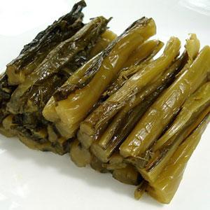 十二代杉ヱ門の野沢菜漬け 野沢菜本漬け 300g 15袋|shirakaba