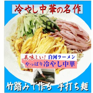 冷麺 冷やし中華10食 ギフト ご当地ラーメン ご進物ギフト 白河ラーメン ramen 冷やし中華ラーメン shirakawara-men