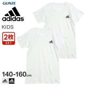 10%OFF【メール便(30)】 (アディダス)adidas 半袖 Tシャツ インナー キッズ ジュ...