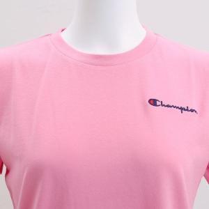 (チャンピオン)Champion レディース 半袖 Tシャツ ロングパンツ 上下セット ルームウェア パジャマ ワンポイントロゴ|shirohato|07