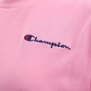 (チャンピオン)Champion レディース 半袖 Tシャツ ロングパンツ 上下セット ルームウェア パジャマ ワンポイントロゴ|shirohato|09