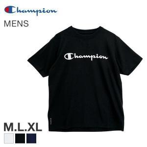 【メール便(30)】 (チャンピオン)Champion C VAPOR COOL 半袖 Tシャツ|shirohato