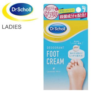 (ドクターショール) Dr.Scholl デオドラント フットクリーム 足用 消臭 制汗 防臭 ニオ...