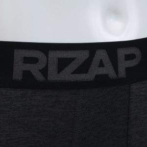 【メール便(15)】 (ライザップ)RIZAP MENS 10分丈 タイツ インナー 前とじ ソフトコンプレッション 杢柄 吸汗速乾 メンズ M L LL|shirohato|09