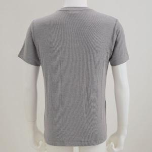 (エムエックスピー)MXP MENS リブドライ RIB DRY Vネック Tシャツ|shirohato|03