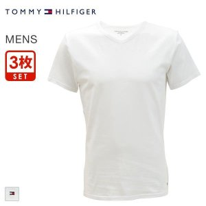 33%OFF (トミー・ヒルフィガー)TOMMY HILFIGER PREMIUM ESSENTIALS PACK Vネック 半袖 Tシャツ 3枚セット|shirohato