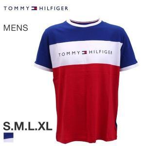 【メール便(10)】 (トミー・ヒルフィガー)TOMMY HILFIGER CN SS TEE LOGO FLAG 半袖 Tシャツ メンズ クルーネック|shirohato