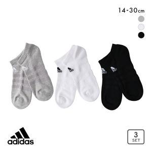 10%OFF (アディダス)adidas スニーカー丈 ソックス 靴下 レディース メンズ 3足組 ...