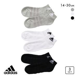 10%OFF (アディダス)adidas ショート丈 ソックス 靴下 3足組 レディース メンズ 2...