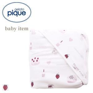 (ジェラートピケ キッズアンドベイビー)gelato pique Kids&Baby ストロベリーガ...