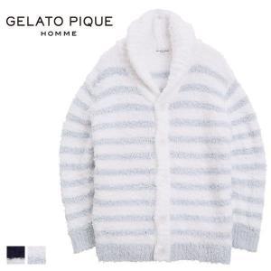 送料無料 (ジェラートピケ オム)GELATO PIQUE HOMME メンズ 'ジェラート'ナヴァ...