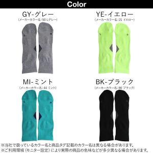 【メール便(10)】 (アシックス)ASICS HARD GRIP LR設計 ハードグリップ クルーソックス|shirohato|02