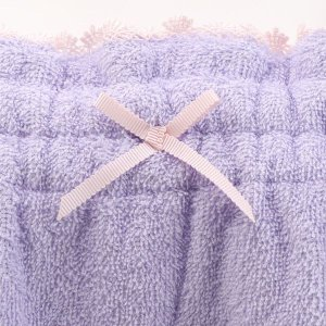 【送料無料】 (ブルーミングフローラ)bloomingFLORA タオル シェルレース バスラップ ワンピース 風呂上り バスローブ ルームウェア ママ 出産祝い 吸水|shirohato|11