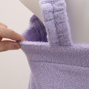 【送料無料】 (ブルーミングフローラ)bloomingFLORA タオル シェルレース バスラップ ワンピース 風呂上り バスローブ ルームウェア ママ 出産祝い 吸水|shirohato|13