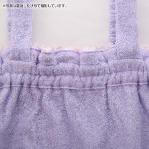 【送料無料】 (ブルーミングフローラ)bloomingFLORA タオル シェルレース バスラップ ワンピース 風呂上り バスローブ ルームウェア ママ 出産祝い 吸水|shirohato|16