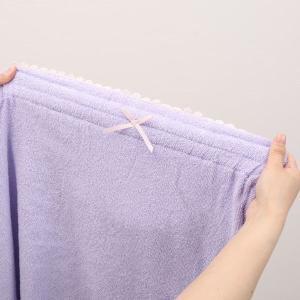 【送料無料】 (ブルーミングフローラ)bloomingFLORA タオル シェルレース バスラップ ワンピース 風呂上り バスローブ ルームウェア ママ 出産祝い 吸水|shirohato|19