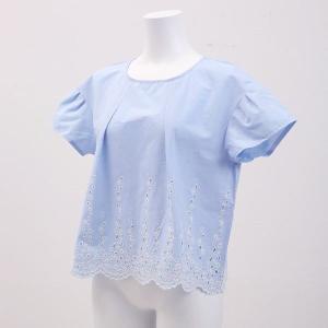 20%OFF送料無料 (キッドブルー)KID BLUE ダンガリーエンブ 半袖 トップス|shirohato|05