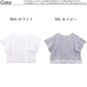 50%OFF【メール便(12)】 (キッドブルー)KID BLUE バスケットエンブ 半袖 トップス|shirohato|02