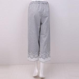 50%OFF【メール便(22)】 (キッドブルー)KID BLUE バスケットエンブ 8分丈 ボトム|shirohato|06
