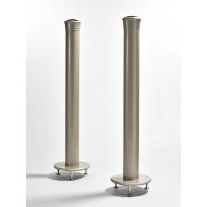 タイムドメイン社独自のタイムドメイン理論、技術を使った円筒形スピーカーシステム「Yoshii9 MK...