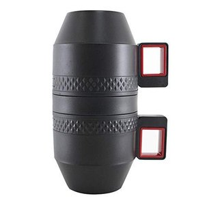 Felio コンパクトコーヒーメーカー CAFE Mug ポータブル コーヒーメーカー 持ち運び オールインワン ミル付き ステンレスフィルター コー|shirokumahouse
