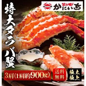 特大タラバ5L肩 × 3肩 2〜3人前 約900g 5L-3 たらば タラバガニ 蟹 ギフト 贈答|shiromura