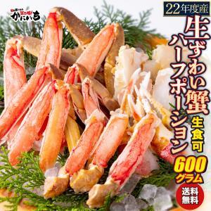 生ずわい蟹 ハーフポーション 600g×5パック 生食可 刺身 ずわいがに ズワイガニ カニ かにの商品画像|ナビ
