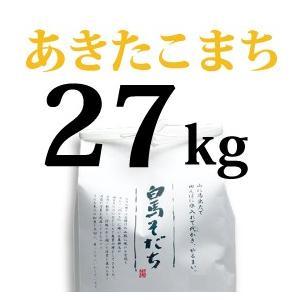 【白馬そだち】長野県白馬村産あきたこまち 27kg【しろうま農場】|shiroumanoujyo