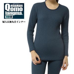 ひだまり 健康肌着 チョモランマ 婦人用 長袖丸首インナー M/L/LL