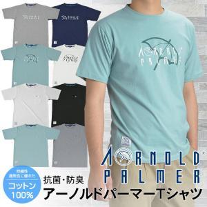 アーノルドパーマー Arnold Palmer Tシャツ 半袖 カットソー メンズ コットン 胸ポケット プリントTシャツ 綿100% 夏 メール便送料無料|shirt-style