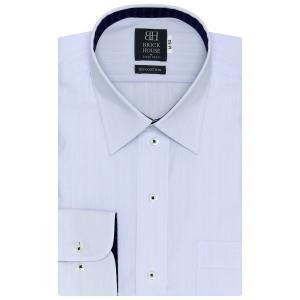 標準体 長袖 ワイシャツ 形態安定 レギュラー 綿100% ...