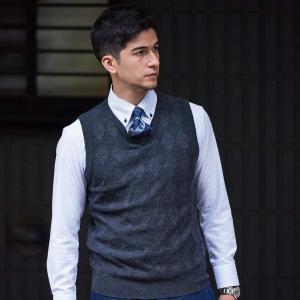 ワイシャツ 長袖 形態安定  ドゥエボットーニ ボタンダウン 綿100% 白×サックスストライプ スリム shirt