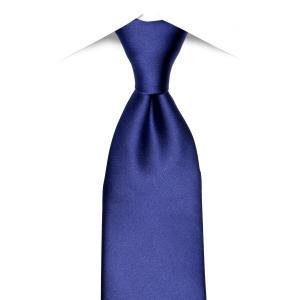 ネット限定商品 / ネクタイ / ビジネス / フォーマル / 絹100% ネイビー系 無地柄|shirt