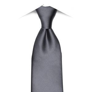 ネット限定商品 / ネクタイ / ビジネス / フォーマル / 絹100% グレー系 無地柄 shirt