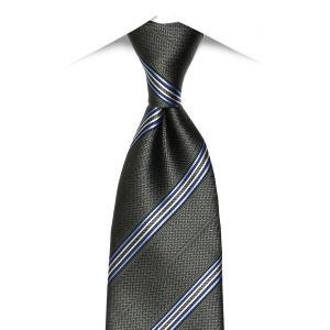 ネット限定商品 / ネクタイ / ビジネス / フォーマル / 絹100% グレー系 ストライプ柄 shirt