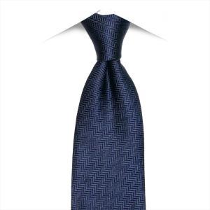 ネクタイ / ビジネス / フォーマル / 日本製ネクタイ ネイビー系 無地柄