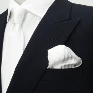ポケットチーフ / ビジネス / フォーマル / シルバー 4面異柄|shirt