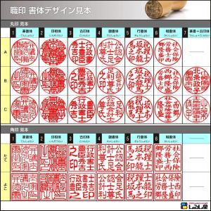 行政書士 職印 アグニ 丸天丸18ミリ|shirushidou|03