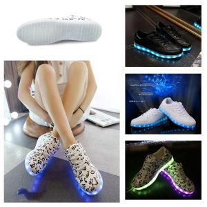 スニーカー LEDスニーカー 光る靴 光るスニーカー 7カラ...