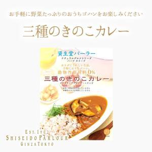 資生堂パーラー 三種のきのこカレー 東京・銀座...