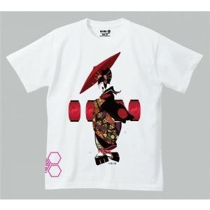 禿ーKAMURO-吉原の灯 思春期マーブルTシャツ|shisyunki