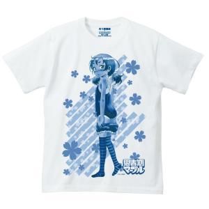 佐々原憂樹01 思春期マーブルTシャツ|shisyunki