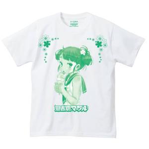 佐々原憂樹02 ソフトクリーム 思春期マーブルTシャツ|shisyunki