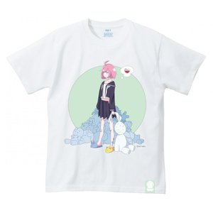 sei うさぎのぬいぐるみ 思春期マーブルTシャツ|shisyunki