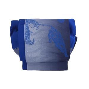 かわいい 簡単装着帯 青|shitateyajingoro