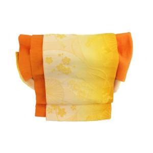 かわいい 簡単装着帯 オレンジ|shitateyajingoro