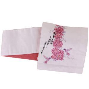 【日本製】オリジナルデザイン京袋お太鼓帯 造り帯 S/M/Lサイズ[No6 おとめ姿] shitateyajingoro
