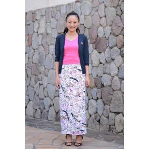 今だけ激安!和柄 巻きスカート ロングタイプ 花柄 和風 ラップスカート さくらこ ピンク shitateyajingoro
