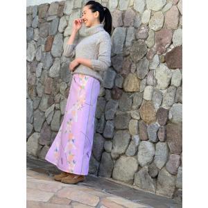 今だけ激安!和柄 巻きスカート ロングタイプ 花柄 和風 ラップスカート さくら蝶 薄桃色 shitateyajingoro