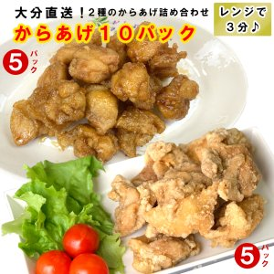 高橋さんのからあげ 10パックセット|shitateyajingoro